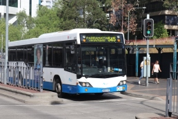 Route 545 will be changed to operate between Parramatta and Macquarie Park only
