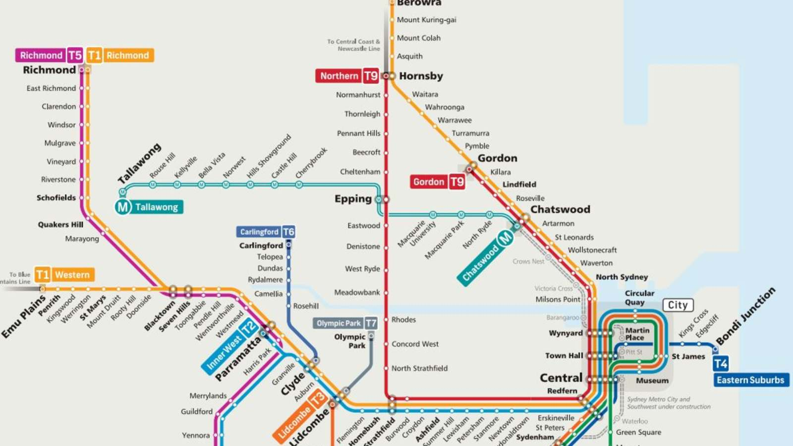 New Map for Sydney Trains – Transport NSW Blog